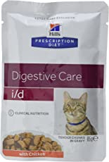 Hill's Prescr Diet Feline i/d Chicken 12 x 85 g pouches
