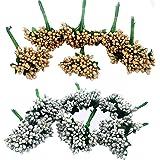 Evisha Artificial Flowers (Multicolour, 12 Piece)