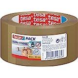 Tesa 57177-00000 tesapack PVC Ultra Strong 66m x 50mm, bruin