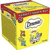 Dreamies Katzensnacks Katzenleckerli Mixbox Variety Snack Box, 720 g