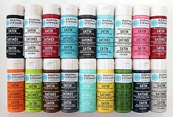 Martha Stewart PROMO767C Acrylic Paint, 2-Ounce, Best Selling Colors I