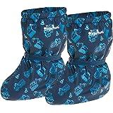 Playshoes Cubrebotas de Lluvia con Forro Obras, Cubrecalzado Impermeable Unisex niños