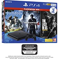 PS4 500GB with 3 PS Hits Game Bundle (PS4)…