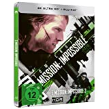 M:I-2 - Mission: Impossible 2 (4K Ultra HD) (+ Blu-ray) limitiertes Steelbook (exklusiv bei Amazon.de)