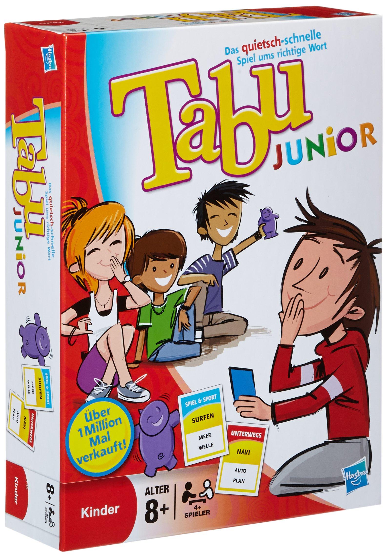 Hasbro Gaming 14334100 - Tabu Junior Partyspiel