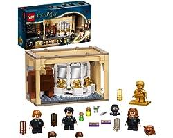 LEGO Harry Potter Hogwarts: Errore della Pozione Polisucco, Castello Giocattolo con Minifigure d'Oro del 20° Anniversario, 76