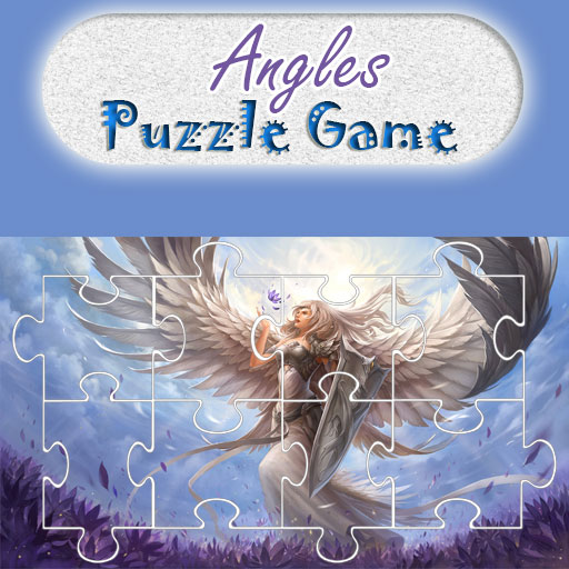 Angels Puzzle Game for Kids (Of Angels League)
