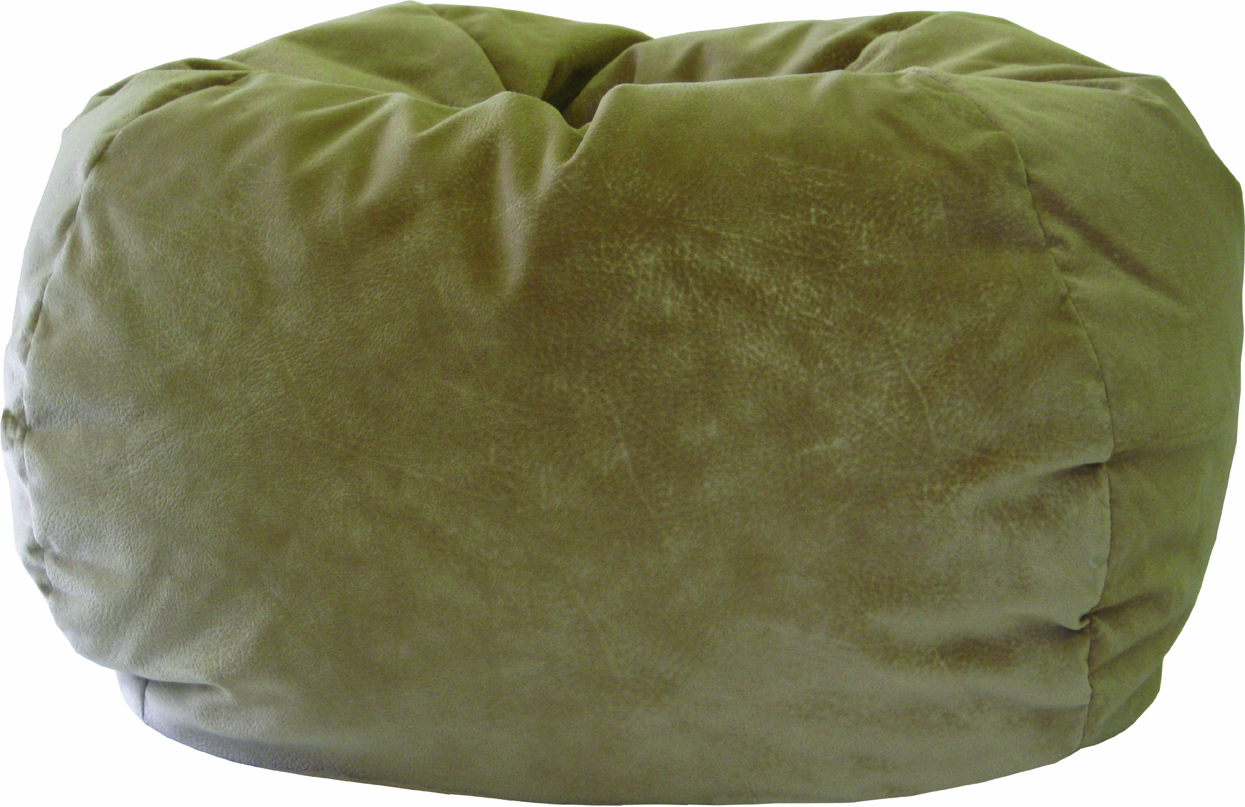 Gold Medal 30008458909 Small Fairview Suede Bean Bag for Children, Buff by Hudson Beanbags
