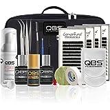 QBS PRO Eyelash Extension Starter Kit | Wimperverlengingsset | Inclusief lijm, verwijderaar, SILK wimpers, primer en andere t