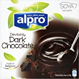 Alpro Devilishly Dark Chocolate Soya Dessert U.H.T, 500 g
