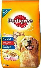 Pedigree Dry Dog Food, Chicken & Vegetables for Adult Dogs – 15 kg