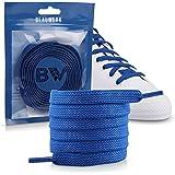 Blauwerk Contenuto della confezione: lacci da 8 mm per sneaker, scarpe da trekking, scarpe da lavoro, manici con lacci resist