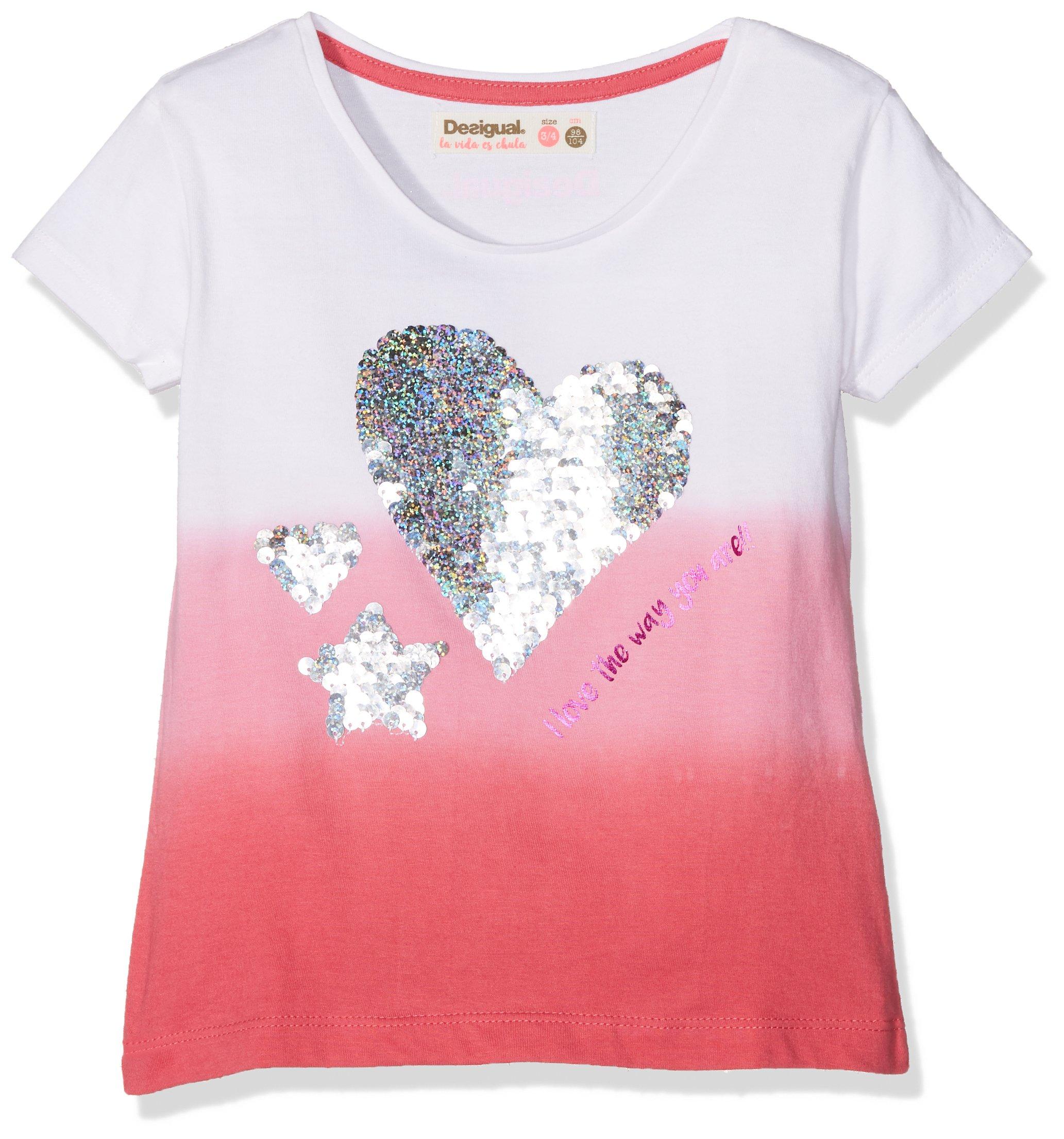 Desigual TS_Alberta Camiseta para Niñas