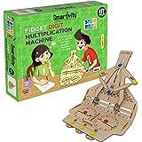 Smartivity Fidget Digit Multiplication Machine STEM STEAM Educational DIY Building Construction Activity Toy Game Kit, Easy I
