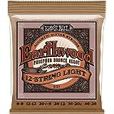 Ernie Ball Earthwood 12-string Light Phosphor Bronze Acoustic String Set .009 - .046