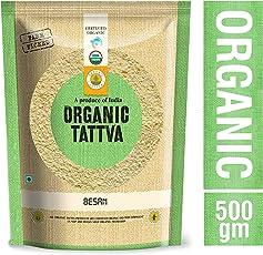 Organic Tattva Besan, 500g