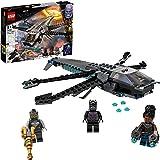 LEGO Super Heroes Il Dragone Volante di Black Panther, Giocattolo per Bambini di 8 Anni dei Supereroi Marvel Avengers, 76186