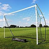 QUICKPLAY Kickster Academy But de Football – Objectif de Football Ultra Portable | Comprend Filet de Football et Sac de Trans