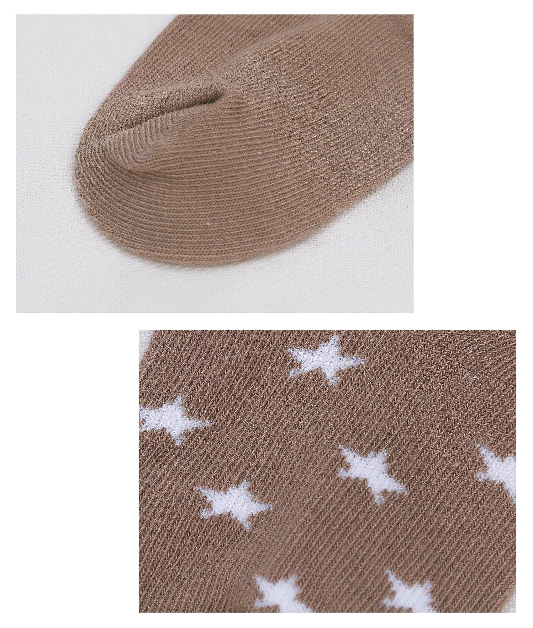 DEBAIJIA Calcetines de Algodón para Bebé 0-7 Años Suaves Cómodos Niños Niñas Calcetines Respirable Primavera Verano… 3