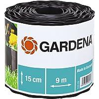 """"""" GARDENA Bordure de pelouse Noir  Hauteur 15cm - Longeur 9m - Dimension 30 x 30 x 30 cm (532-20) """""""