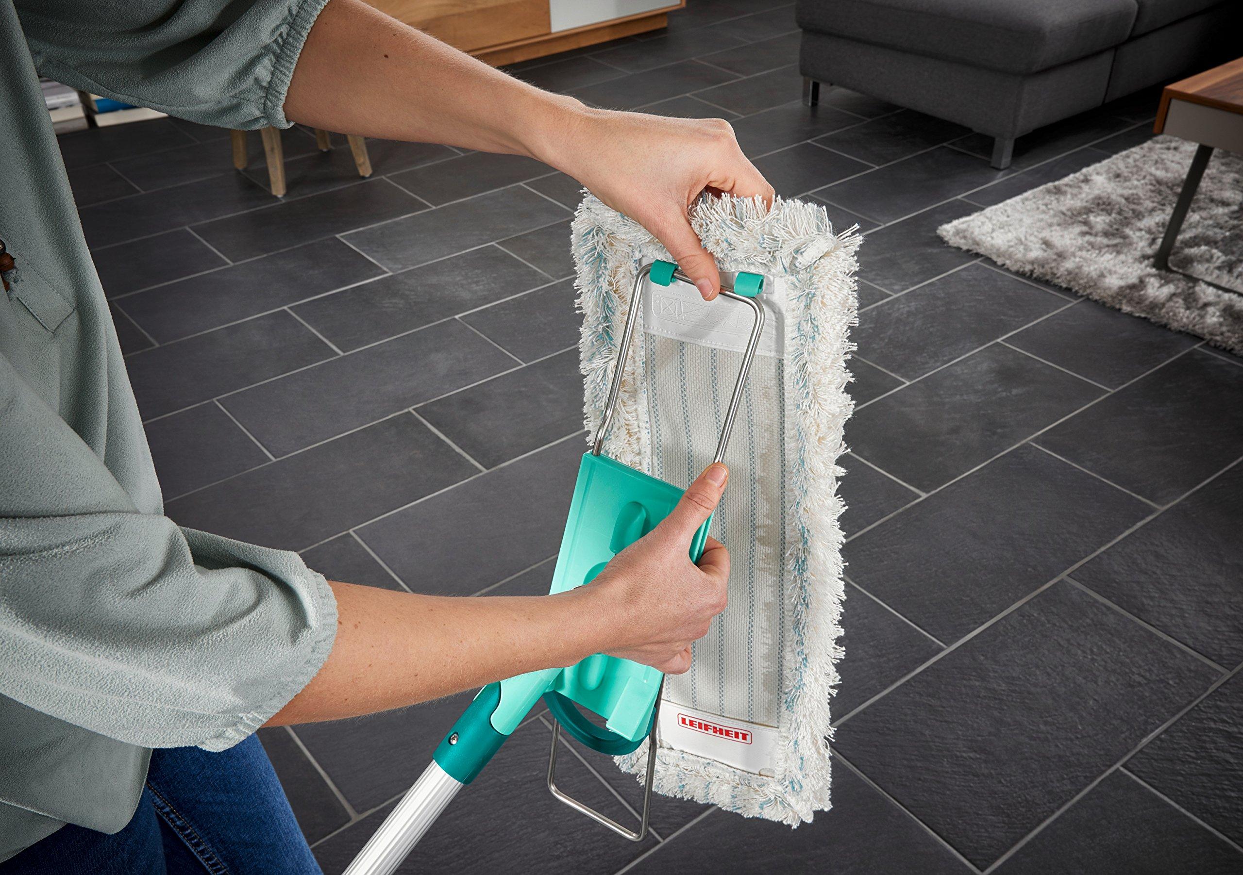 Leifheit Bodenwischer Profi Xl Cotton Plus Mit Aluminiumstiel Fur