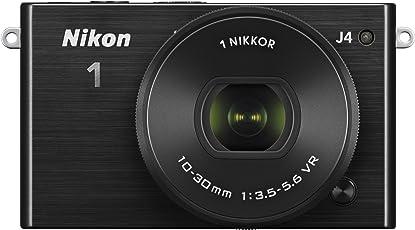 Nikon 1 J4 Mirrorless Digital Camera with 1 Nikkor 10-30mm f/3.5-5.6 PD Zoom Lens (Black)