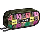 Fortnite Estuche Escolar Niño, Estuches Para Lápices Diseño Emotes Ovalados y Rectangulares, Materiales Escolares Producto Of