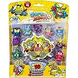 SuperThings Serie 4, Blíster con 10 figuras, PSZ4B016IN00, 9 Figuras y 1 Figura Dorada Super Rare