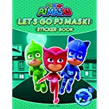 Let's Go PJ Masks Stickers Book : Fun Activity Books For Kids (PJ Masks)