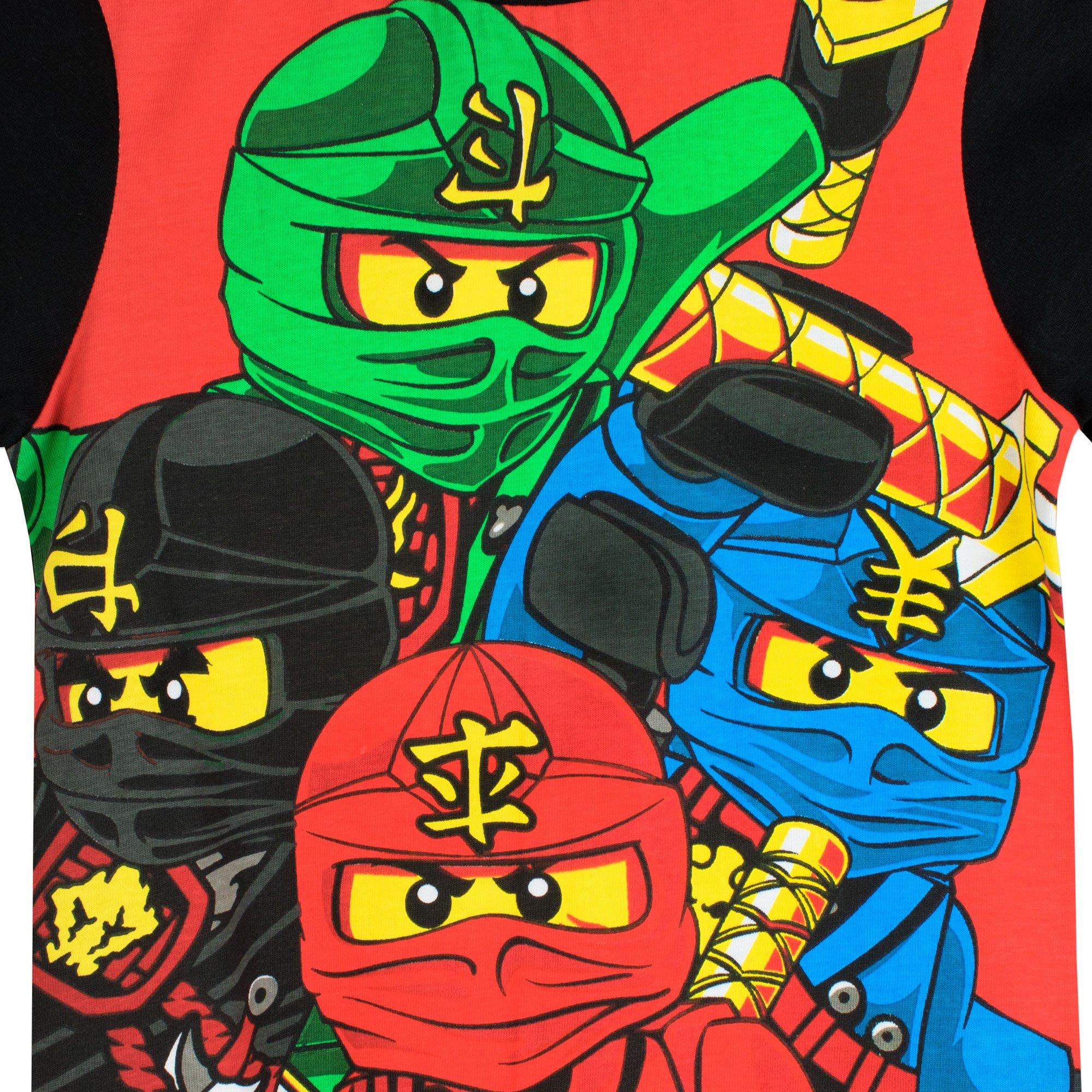Lego Maglietta Maniche Corta per Ragazze Ninjago