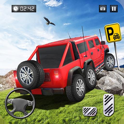 Offroad Abholen LKW Parkplatz Simulator 2018 Buggy Auto Fahren Spiele (Auto Fahren Simulator)