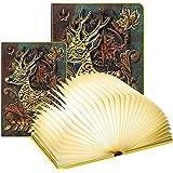 Lampada Libro Led Pieghevole in 3 Colori – DEVASO   Lampada Libro Decorazioni Casa, Camera e Ufficio   Idea Regalo Originale