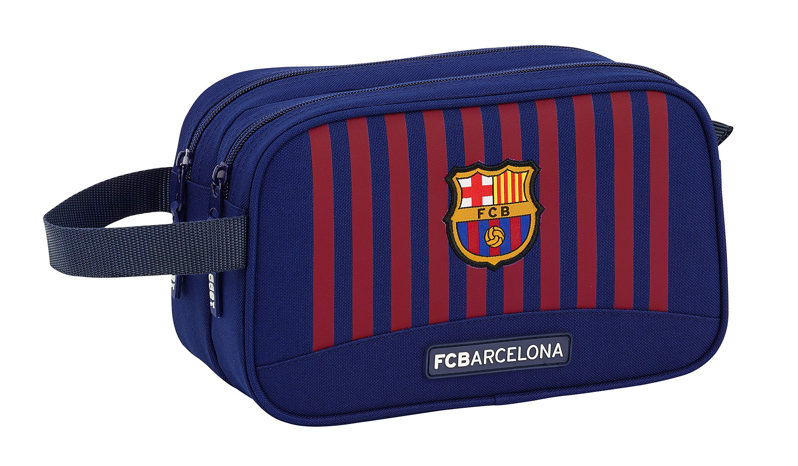 FCB FC Barcelona, 26 cm, Azul 811829518 2018 Bolsa de Aseo, Unisex
