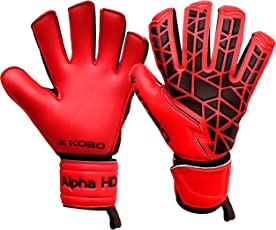 Kobo Alpha HD Football/Soccer Goal Keeper Gloves (Imported)