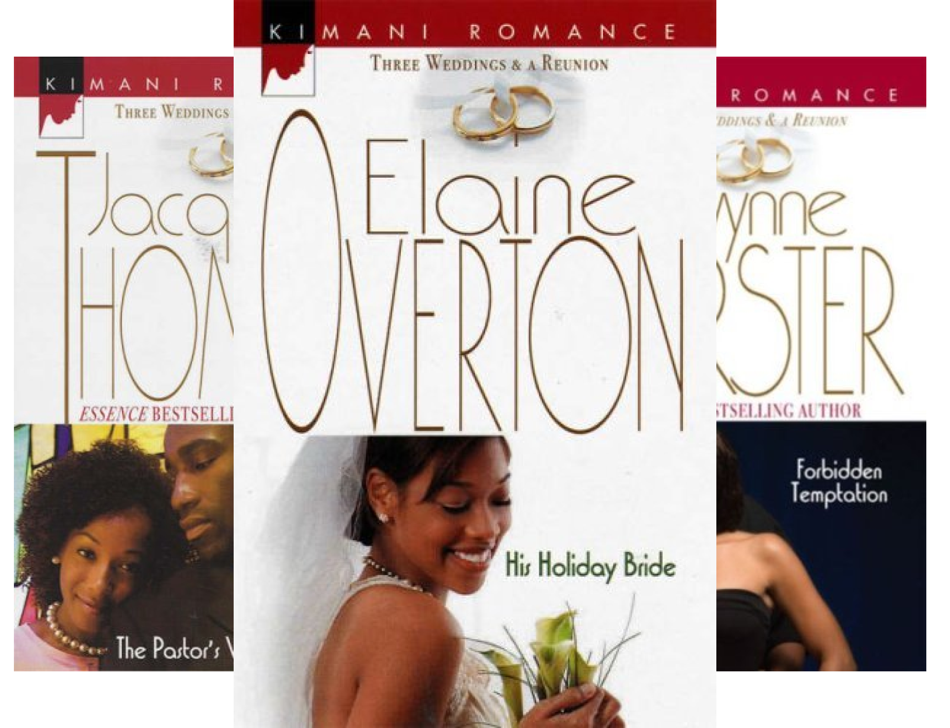 Three Weddings and a Reunion (3 Book Series)