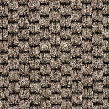 Teppichboden meterware  Teppichboden Auslegware Meterware Flachgewebe-Schlinge beige braun ...