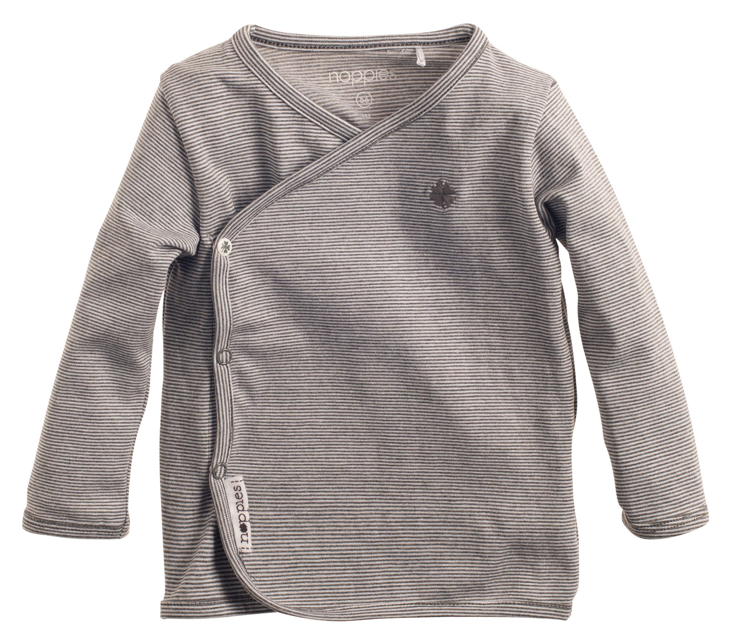 6b4092fdb0 Noppies Baby - Jungen T-Shirt B Tee Ls Smal Yd, Gestreift, Gr. 50 ...