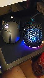 Spc Gear Lix Ultraleicht Rgb Gaming Maus Schwarz Computer Zubehör