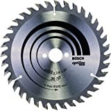 Bosch Professional cirkelzaagblad Optiline Wood 160 x 20/16 x 2,6 mm, 36 stuks
