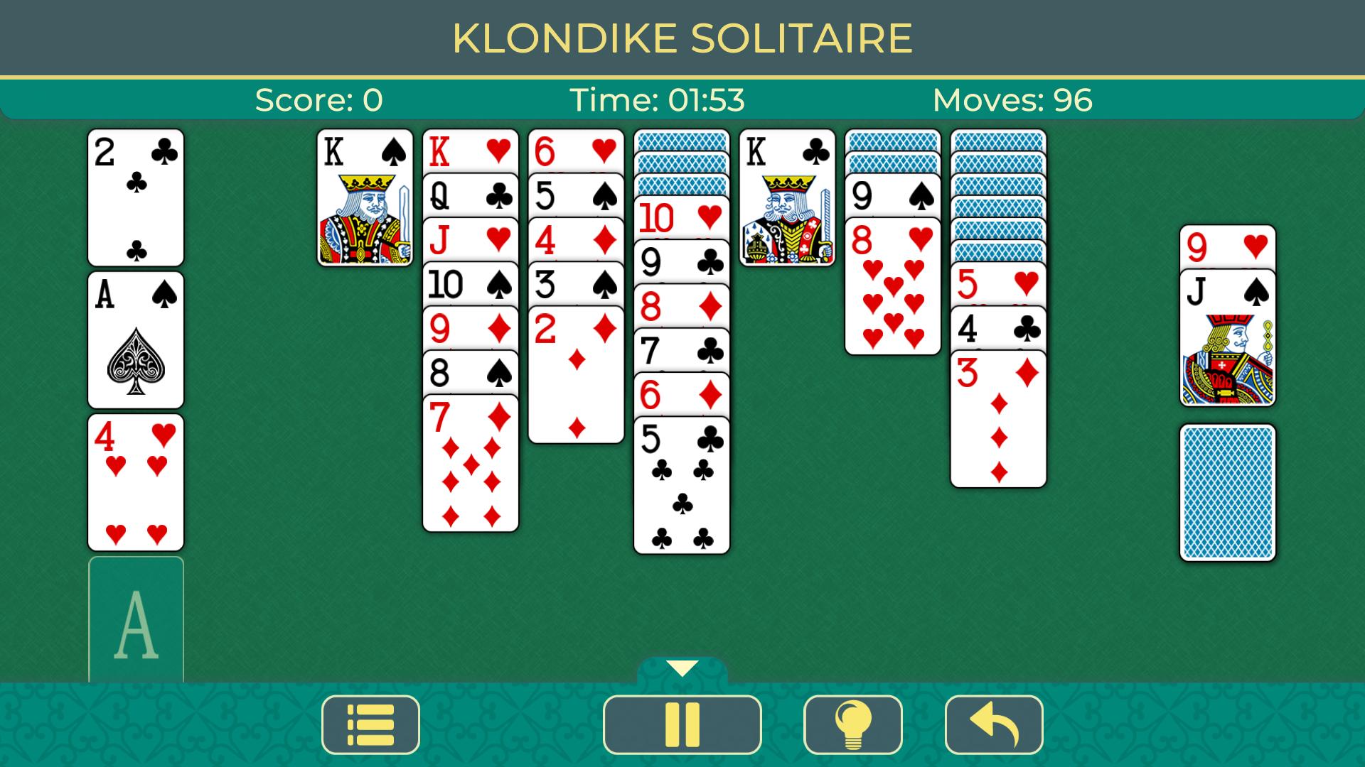 Patience Klondike