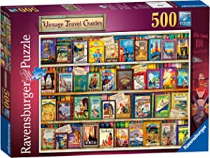 Ravensburger 14752 Vintage Travel Guides 500 piece Jigsaw Puzzle for Adults & for Kids Age 10 and Up
