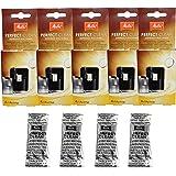 Melitta Perfect Clean 1500791 Lot de 5 sachets contenant 4 pastilles de nettoyage pour machines à café de 1,8 g