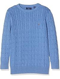 Cotton Cable Crew, suéter para Niños
