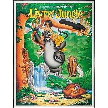 Le Livre de la Jungle reproduction photo affiche du film 40 x 30 cm: Amazon.fr