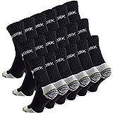 Cotton Prime Lot de 6 paires de chaussettes homme pour le travail et les loisirs - chaussettes de travail robustes