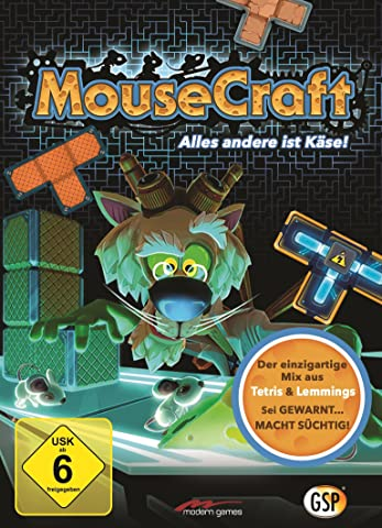 MouseCraft - Der einzigartige Mix aus Tetris und Lemmings! Windows|Mac|Linux [PC/Mac Code - Steam]