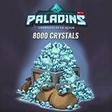 8000 cristaux Paladins [Code Jeu PC - Sans DRM]