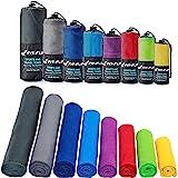 Mikrofaser Handtücher in ALLEN Größen / 12 Farben – klein, leicht und ultra saugfähig - das perfekte Sporthandtuch, Reisehandtuch, Microfaser-Badetuch, XXL Strandhandtuch, Sauna Microfaser Handtuch