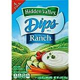 Hidden Valley The Original Ranch Dips Mix 4 Envelopes 113g
