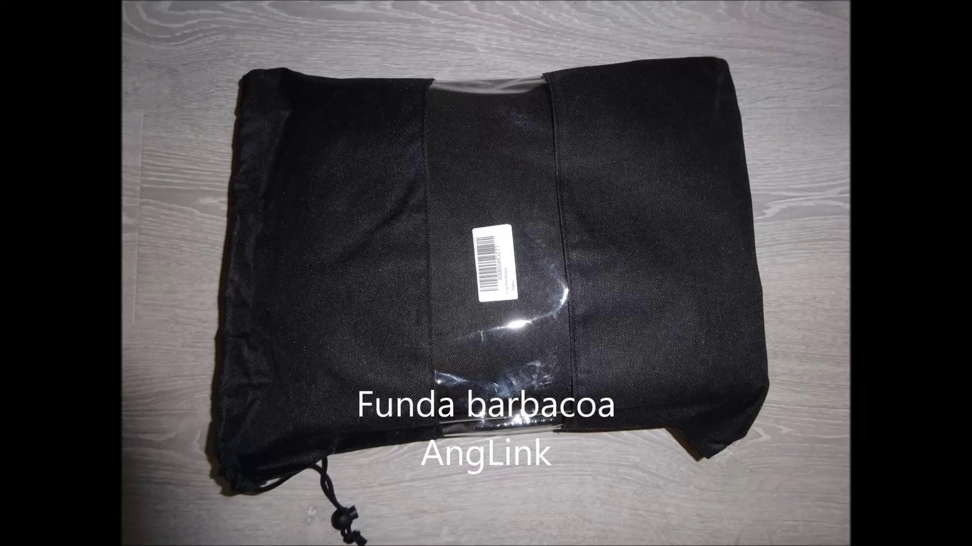 AngLink Funda para Barbacoa Impermeable 600D Oxford 147x61x122 CM Cubierta BBQ Parrilla Funda Protectora para Barbacoa Protección de Lluvia Nieve Polvo para ...